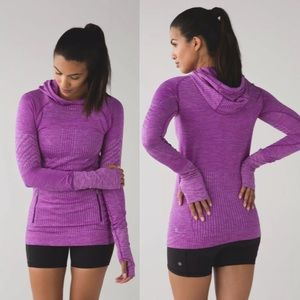 LULULEMON Rest less hoodie pullover approx sz 2-4